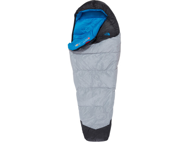 The North Face Blue Kazoo Sacos de dormir Largo, high rise grey/hyper blue